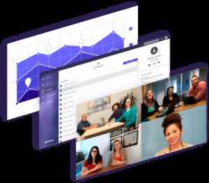 Lifesize Cloud, Dashboard und Raumsystem Beispiel für perfekte Videokonferenzen