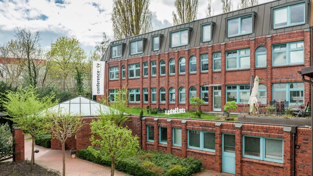 Hauptsitz von conferenct-tv.de, dem Anbieter für Videokonferenzen, Medientechnik und Medienmöbel as a Service, in Hamburg, Kellerbleek 3