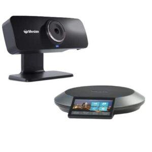 Lifesize Icon 300 und Phone HD, die elegante Kommandozentrale von Lifesize für Video-, Audio- und Web-Meetings. Ideal für kleinere Besprechungsräume.