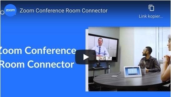 Zoom Room Conncector Lizenz, ist ideal für den Einsatz Ihrer bestehenden Raumsysteme,