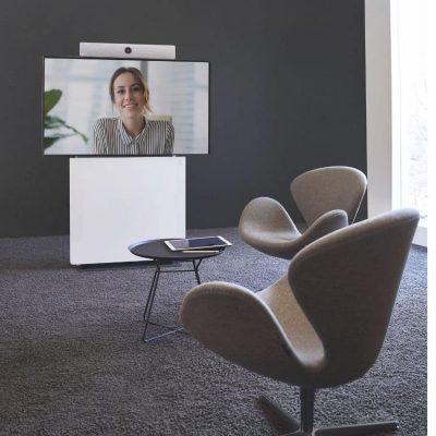 Huddle Room für Videokonferenz Meetings, kleine Besprechungsecke